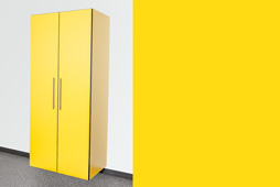 Sonic Yellow Cabinet Option